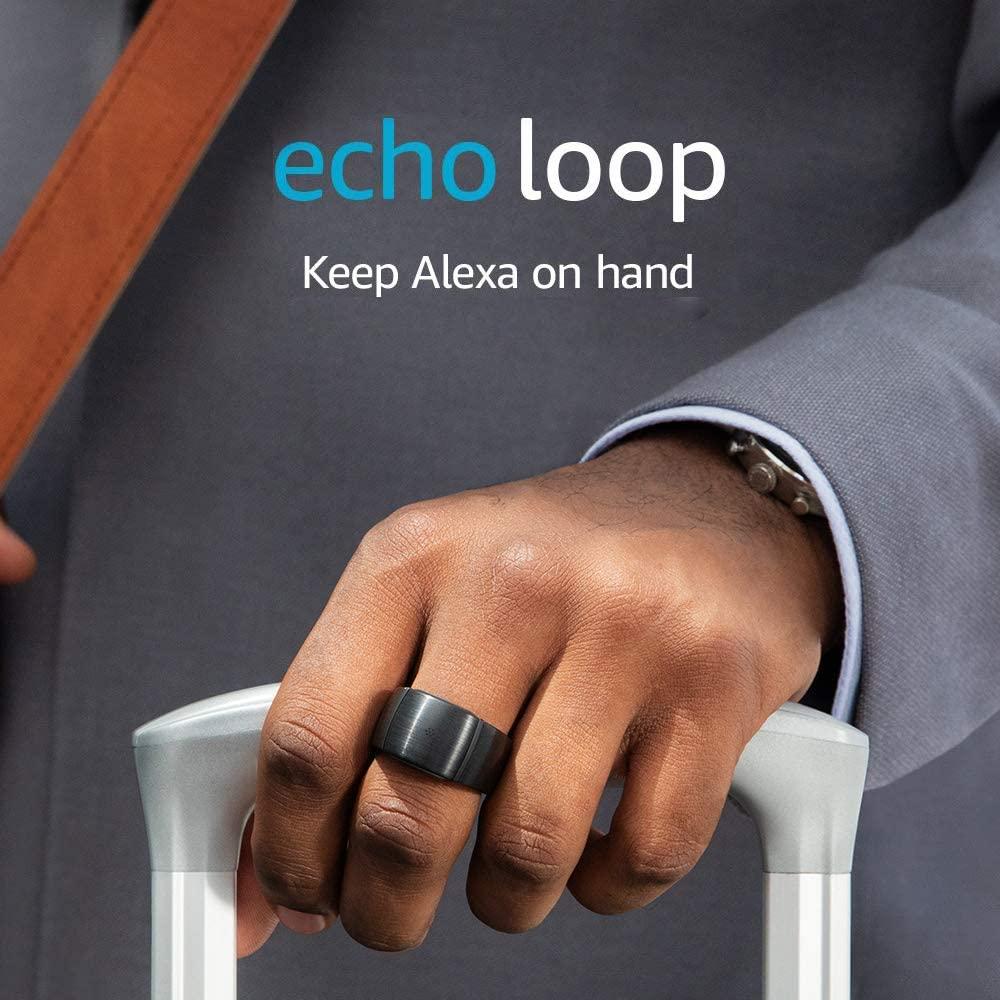 Echo Loop - Smart ring with Alexa
