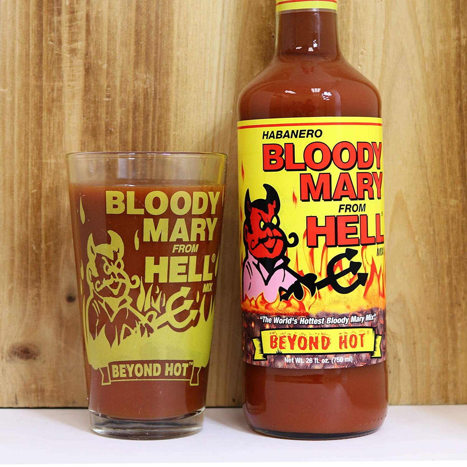 Bloody Mary Mix From Hell